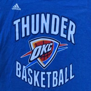 Adidas Oladipo #5 OKC Thunder Basketball Large NWT